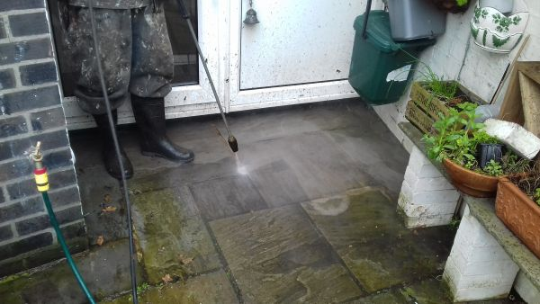 Pressure Washing in wallington