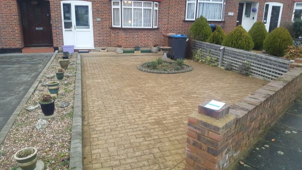Pressure Washing in Raynes park.