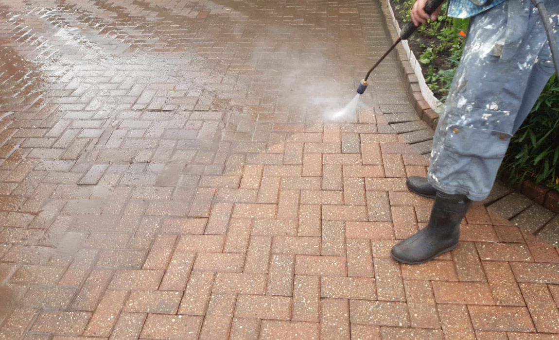 Jet Washing in Surrey